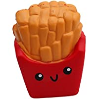 VWH Squishy Toy Slow Rising French Fries Squeeze Relief Anxiety Stress Toy