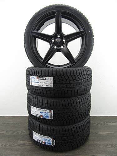 Lot de 4 roues d'hiver pour BMW Série 3 GT 5 F10 6 F12 X3 RDKS AXXION AX7 HANKOOK 19\