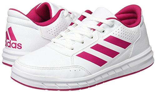 adidas AltaSport Trainingsschuh Kinder weiß / pink