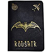 I Love Fashion Men's and Women's Leather Passport Cover