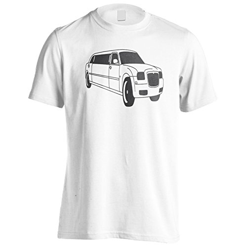 Autista di limousine divertente novità auto lusso Uomo T-shirt c509m White