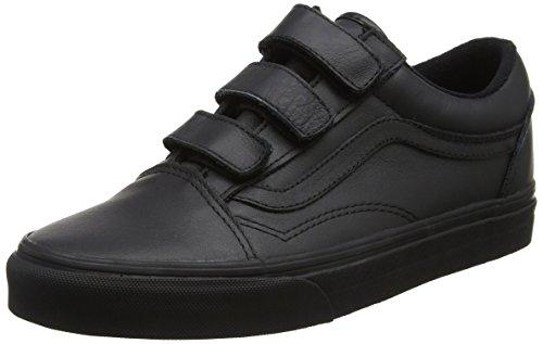 Vans Old Skool Zip, Chaussures Bébé Unisexe, Noir (suède), 17,5 Eu