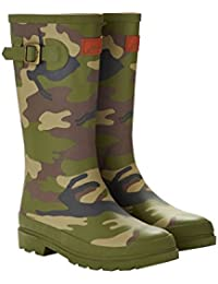 Joules Hare camo Welly