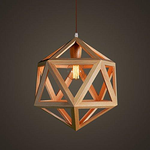 LINA-Villaggio americano la creatività artistica lampadario ristorante soggiorno minimalista in rovere bianco 6 lampadario ad angolo - Corda Angolo