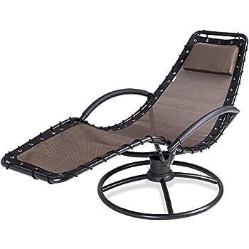 Moka Fauteuil Bascule Coussin Relaxation Laqué Relax De Fonction Jardin Eve 360° À Acier Chaise Longue Pivotable QrCxtshd