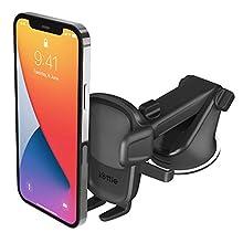 iOttie Easy One Touch 5 - Supporto per cruscotto e parabrezza da auto, supporto da scrivania per iPhone, Samsung, Moto, Huawei, Nokia, LG, smartphone