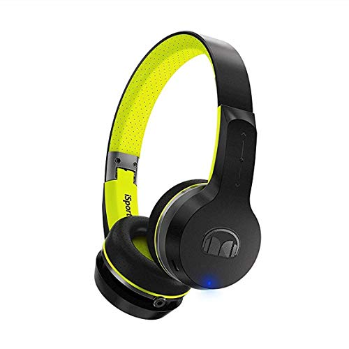 Monster iSport Freedom Casque Audio Noir/Vert