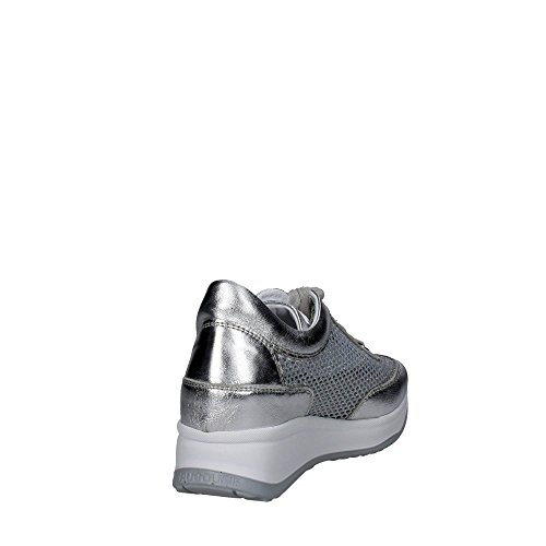 Agile By Rucoline 1304 A-4 Sneakers Femme Argent