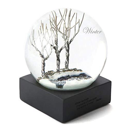 HuAma Vier Jahreszeiten Crystal Ball Frühling Sommer Herbst Winter Desktop Dekoration Geburtstagsgeschenk Hochzeitsgeschenk