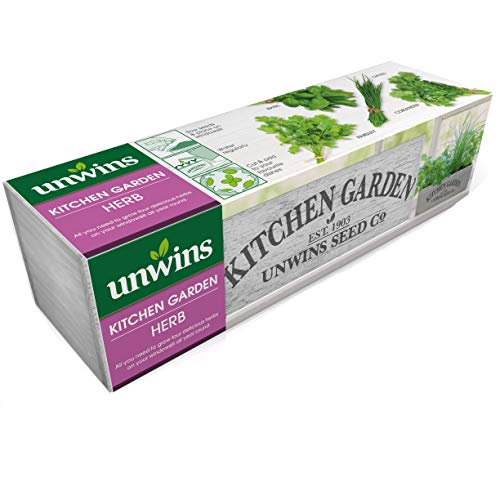 Unwins Garden Herbs Seed Kit, Soft Gray