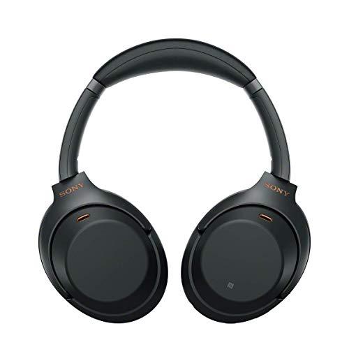 Sony WH-1000XM3 Bluetooth Noise Cancelling Kopfhörer (30h Akkulaufzeit, Touch Sensor, Headphones Connect App, Schnellladefunktion) schwarz - 5