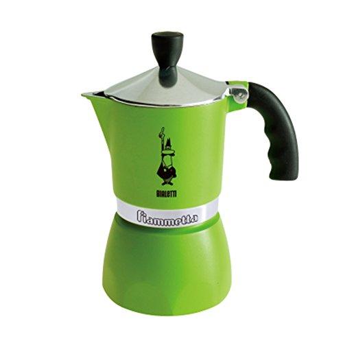 Bialetti 3 Cup Fiammetta, Green
