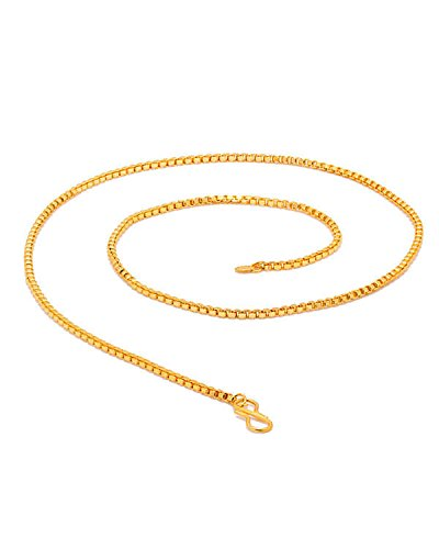 Men/Boys Stylish Mens Chain In Gold Tone