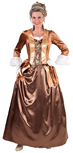 narrenkiste M217109-XXL Damen Rokoko Kleid Kostüm Marquisin Prinzessin Gr.XXL