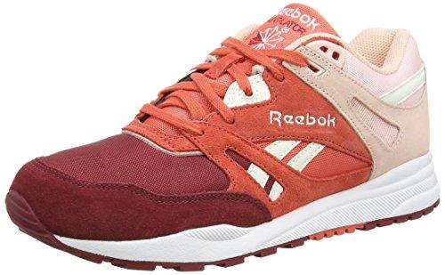 Reebok Ventilatore Damen Sneakers Putrefazione (triathlon Rosso / Rosetta / Luna Rosa / Gesso / Bianco)