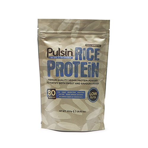 Pulsin 250g Brown Rice Protein Powder by Pulsin Ltd (English Manual)