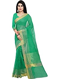 Saree Mall Women's Art Silk Saree With Blouse Piece (Sarees Below 500 Party Wear New Rgo2011_Green)