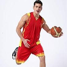 LQZQSP Juegos De Camisetas De Baloncesto para Hombres Juegos De Camisetas De Baloncesto para Colegios Uniformes