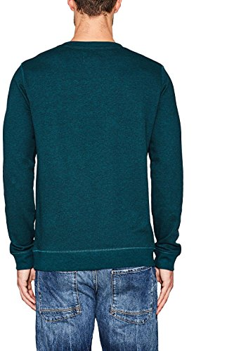 ESPRIT Herren Sweatshirt Grün (Emerald Green 2 306)