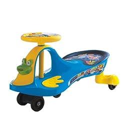 A+B Crazy Frog Swing Car, Blue