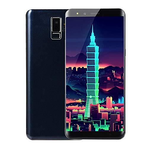 Fulltime E-Gadget Neue Art und Weise 5,7 Zoll Doppel-HDCamera Smartphone Android 5.1 IPS-Full-Bildschirm GSM/WCDMA-Touch Screen 512 MB RAM + 512 MB ROM WiFi Bluetooth GPS 2G Anruf-Handy (Blau)