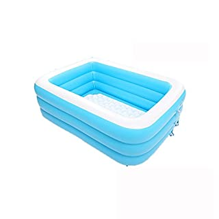 MBJZ Plastic inflatable bath home adult thick folding bathtub,150*110*50cm