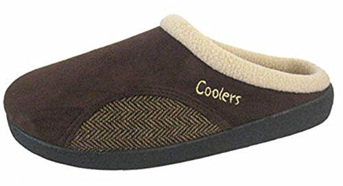 Coolers , Sandales Compensées homme Marron - marron