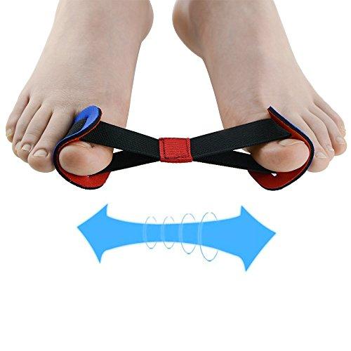 Big Toe Strap entzündeten Fußballen Straightener, progoco 1Stück Zehen Keilrahmen Ausrichtung Hallux Valgus Korrektur zu Relief Fuß Schmerzen