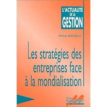 Stratégie des entreprises face à la mondialisation