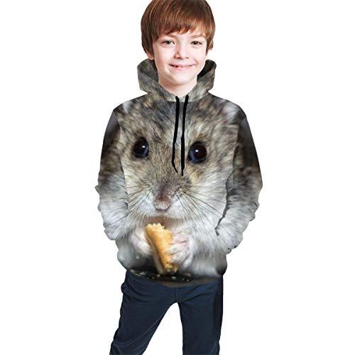 GHJL Athletic Sweatshirt Sportswear für Jungen Mädchen Teenager Junior, Kinder, Retro Rollschuhe, Large(14-16)