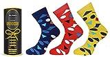 #9: VaCalvers Mens Premium Cotton Ankle Socks (3 Pairs _Multicolor _Free Size)