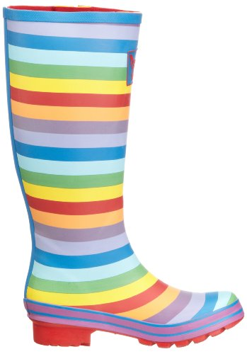 Evercreatures Rainbow, Bottes Femme Multicolore (Rainbow)