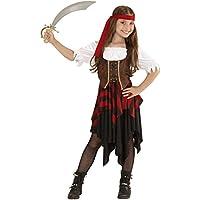 WIDMANN 05598 - Costume da Piratessa, in Taglia 11/13 Anni