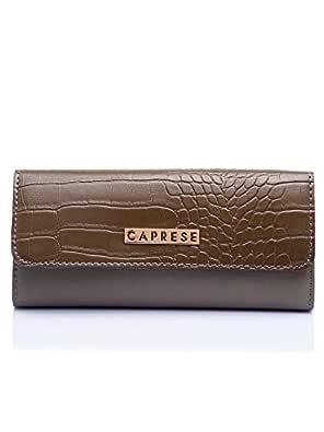 Caprese Croc Women's Wallet (Olive)