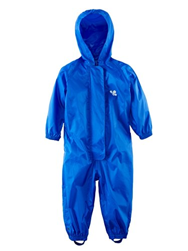 Muddy Puddles Childrens Waterproof Original All in One Suit (3-4 yrs, Royal Blue)