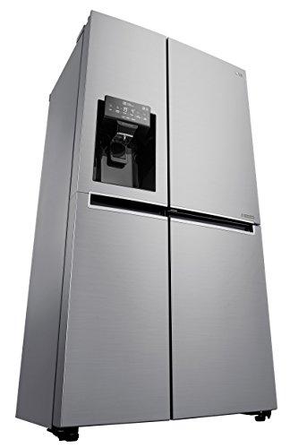 LG Electronics GSJ 461 DIDV Side-by-Side / A+ / 419 kWh/Jahr / 179 cm / 405 L Kühlteil / 196 L Gefrierteil / stahl / Inverter Linear Kompressor / No Frost (Lg Kompressor-kühlschrank)