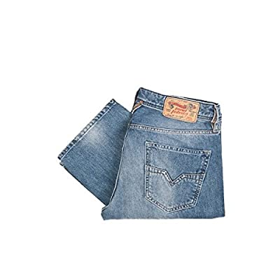 Diesel Straight Leg Jeans LARKEE Wash 0800Z, Color: Blue