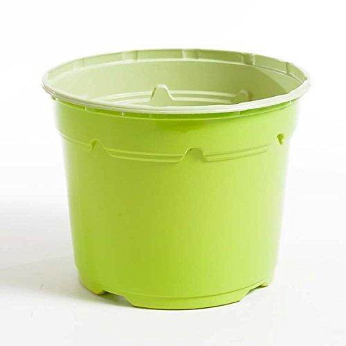 Pot horticole DUO 17 cm vert anis (x 25)