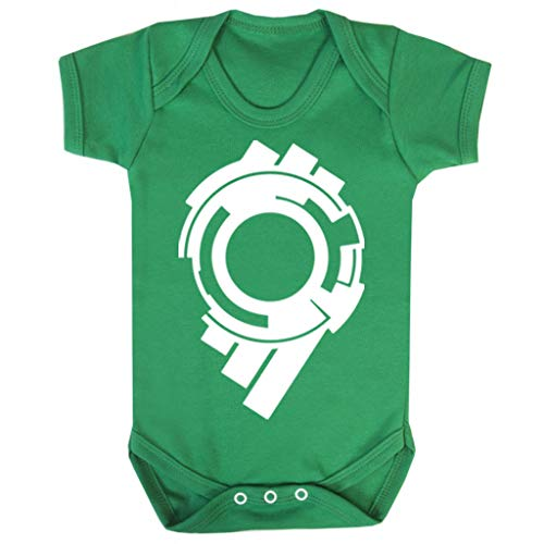 (Ghost In The Shell Section 9 Logo Baby Grow Short Sleeve)