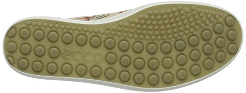 Ecco Soft 7, Sneakers Basses Femme Mehrfarbig (50471MULTICOLOR/LIMESTONE/POWDER)