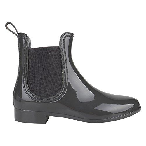 Japado , bottes en caoutchouc femme Grau Grau
