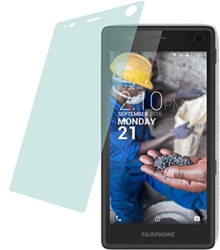 4ProTec 2X ANTIREFLEX matt Schutzfolie für Fairphone 2 (2015) Premium Bildschirmschutzfolie Displayschutzfolie Schutzhülle Bildschirmschutz Bildschirmfolie Folie