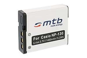 Batterie NP-130 pour Casio Exilim EX-H30, H35, ZR100, ZR200, ZR300, ZR310, ZR320