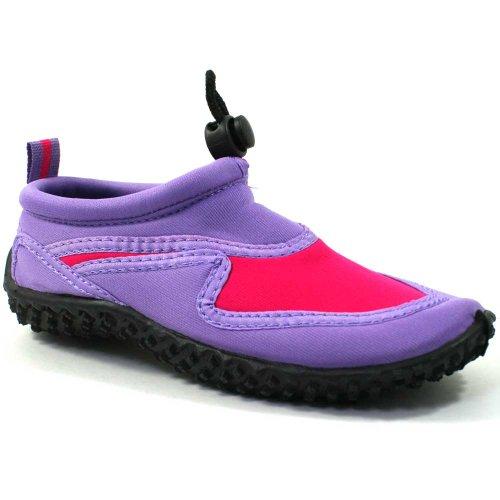 Osprey Jungen/Mädchen Aqua Schuhe Mehrfarbig - Purple/Pink