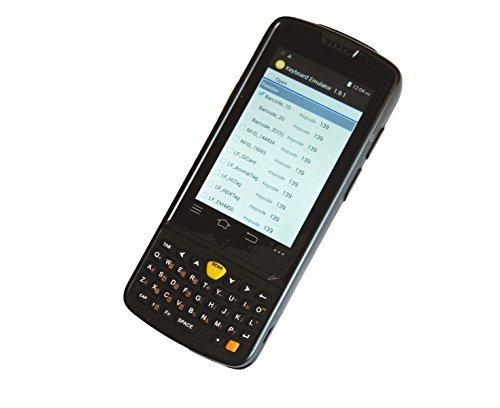 Archer @ Rugged Handheld Data Terminal Incorporated Motorola 1D Laser-Barcode-Scanner, Android 4.3 OS, 3G (WCDMA), GPS, WLAN IEEE802.11b/g/n, Bluetooth 4.0, Aufladestazion