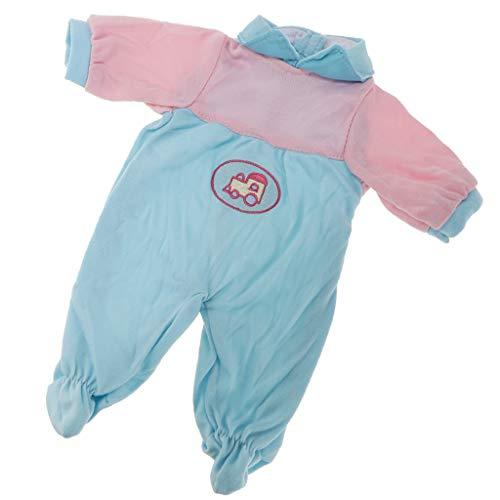 Baoblaze Schöne Kleidung Outfit für 14 Zoll amerikanischen Mädchen Puppe Dress Up Zubehör - B