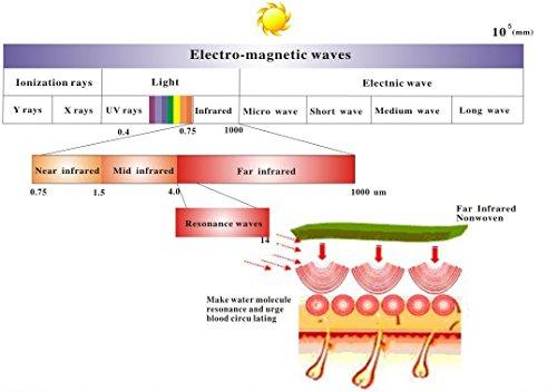 Infrarot Heizung mit Digitalthermostat 130 300 450 600 800 1000 Watt Elektroheizung mit Bild 2*