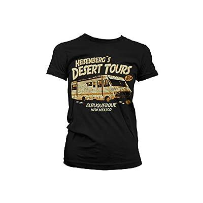 Officiellement Marchandises Sous Licence Heisenberg´s Desert Tours Femme T-Shirt