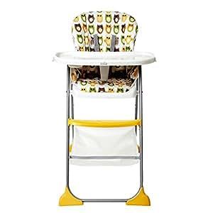 Joie Mimzy Snacker Chaise haute pour bébé Motif hibou