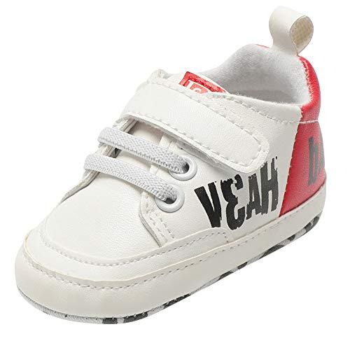 d3c25105c3d3a Chaussures Bébé Binggong Infantile Bébé Garçons Enfants Sangles Crib  Chaussures Semelle Souple Antidérapant Premières Chaussures De